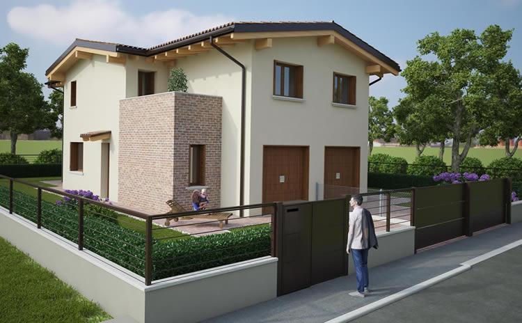 Villette cento appartamenti cento ferrara case for Nuove planimetrie per la costruzione di case