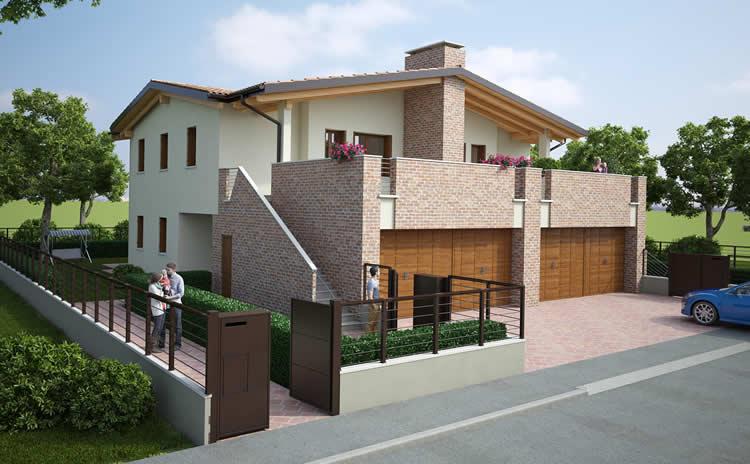 Awesome cuore verde with progetti villette for Progetti ville a due piani